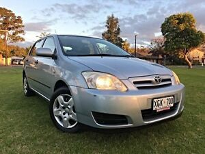 2005 Toyota Corolla ZZE122R 5Y Ascent Blue 5 Speed Manual Hatchback Somerton Park Holdfast Bay Preview