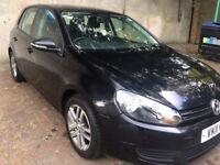 Volkswagen Golf, 1.4, 2011, Petrol, Manual, Black, 5-door hatchback, £3,950 ono