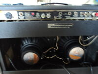 FENDER TWIN REVERB ÉCHANGE MARSHALL A LAMPES