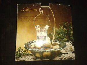 Glass storage jars and tea lite fountain Cambridge Kitchener Area image 1