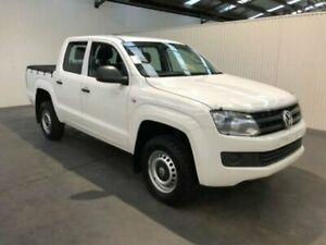 2015 Volkswagen Amarok 2H MY16 TDI420 (4x2) Candy White 8 Speed Automatic Dual Cab Utility Moonah Glenorchy Area Preview