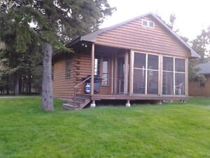 2 Bdrm Log Chalet On The Water In Tatamagouche, NS For Sale