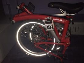 Brompton foldable bike - Nearly new and rarely used