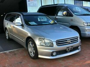 2003 Nissan Stagea NM35 250T-RS-FOUR-V Silver 4 Speed Automatic Wagon Taren Point Sutherland Area Preview