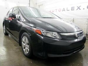 2012 Honda Civic LX NOIR A/C BLUETOOTH CRUISE 29$/SEM