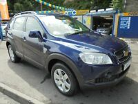 2008 57 CHEVROLET CAPTIVA 2.0 VCDI LT IN BLUE # GREAT VALUE 2008 4X4 #