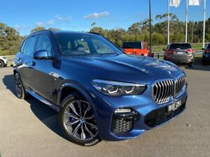 2019 BMW X5 G05 xDrive30d Steptronic M Sport Phytonic Blue 8 Speed Sports Automatic Wagon Traralgon Latrobe Valley Preview
