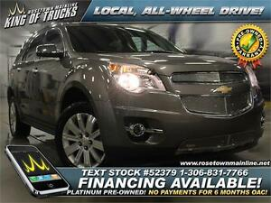 2012 Chevrolet Equinox 2LT Local   Leather   PST PAID