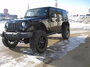 2014 Jeep Wrangler Unlimited Rubicon 6 Inch Lift -- $310 Bi-wkly
