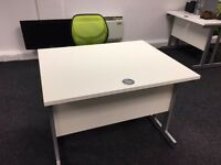 Computer desks and chairs X 6 sets. Will sell separately or as job lot