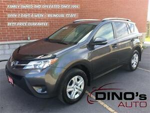 2013 Toyota RAV4 LE AWD | $77 Weekly $0 Down *OAC