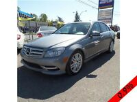 MERCEDES C250 2011 4MATIC/AWD TOIT /PARKING SENSOR/BLUETOOTH