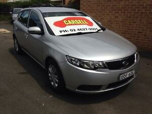 2012 Kia Cerato TD MY12 SI Silver 6 Speed Automatic Hatchback Campbelltown Campbelltown Area Preview