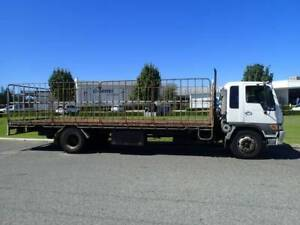 Hino 8 Tonne Traytop with Gates and Container Pins. Welshpool Canning Area Preview