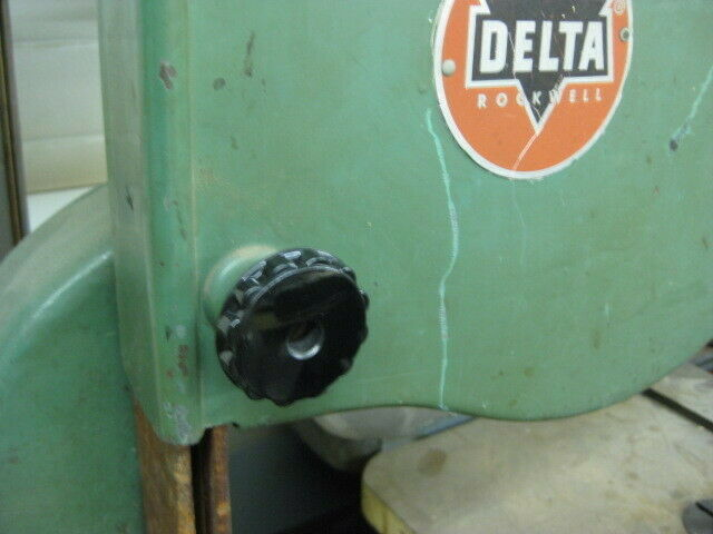 """THREADED KNOBS for the WHEEL COVERS on VINTAGE DELTA 14"""" BAND SAWS"""