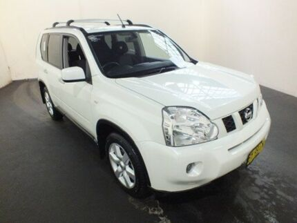 2010 Nissan X-Trail T31 MY10 TS (4x4) White 6 Speed Automatic Wagon Clemton Park Canterbury Area Preview