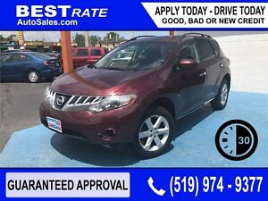 NISSAN MURANO - APPROVED IN 30 MINUTES! - ANY CREDIT LOANS