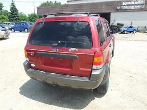 2003 Ford Escape XLT Leather Kitchener / Waterloo Kitchener Area image 5