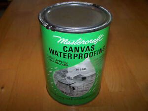 Getting Ready for Camping ? ?   Big Sealed Can of Waterproofing