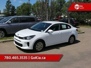 2018 Kia Rio LX+ AT; AUTOMATIC, A/C, BACKUP CAMERA, HEATED SEAT