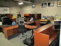 Desks Office Furniture Used and New Desks Over 50 In stock