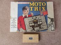 Moto Trix 363 and Trix Elementrix from the 1940's.