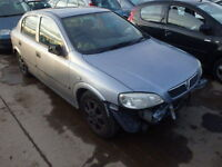 Vauxhall Astra 1.4 16V Manual Gearbox Breaking For Parts (Grey Colour) (2004)