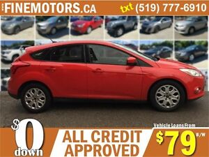 2012 FORD FOCUS SE HATCHBACK * EASY ON GAS * FINANCING AVAILABLE London Ontario image 2