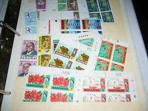 New foreign stamps full sheets, corner blocks, and singles