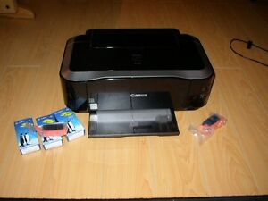 Canon PIXMA Inkjet Printer + 5 ink cartridges