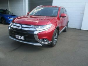 2015 Mitsubishi Outlander ZK MY16 Exceed 4WD Red 6 Speed Sports Automatic Wagon Toowoomba Toowoomba City Preview