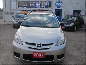 2007 Mazda Mazda5 GS|MUST SEE| LOCAL TRADE| 7 PASSENGER Kitchener / Waterloo Kitchener Area image 2