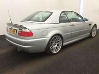 2001 BMW M3 3.2i 2001MY M3,SILVER,HARDTOP,63,000 MILES,MANUAL