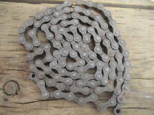 bicycle chain KMC, 108 links, approx 142 cm, new. $10
