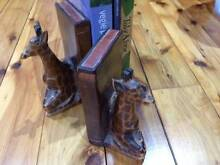 pair of wooden giraffe bookends Northbridge Willoughby Area Preview