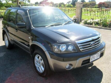 2007 Ford Escape ZC XLT Black 4 Speed Automatic Wagon Enfield Port Adelaide Area Preview
