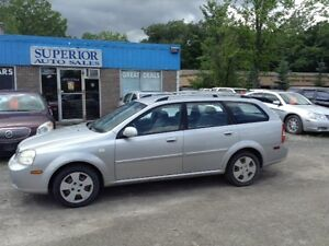 2005 Chevrolet Optra Wgn LS Fully certified!
