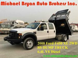 2008 FORD F450 DUMP TRUCK *6.4L V8 DIESEL* GREAT WINTER PRICE***