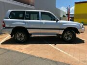 2005 Toyota Landcruiser HDJ100R GXL Silver Pearl 5 Speed Automatic Wagon Stuart Park Darwin City Preview