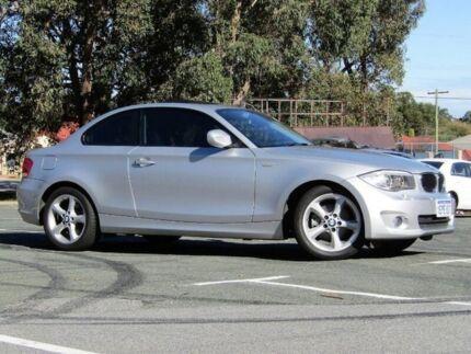 2013 BMW 120i E82 LCI MY1112 Steptronic Silver 6 Speed Sports Automatic Coupe Kalamunda Kalamunda Area Preview