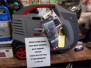 BRIGGS & STRATTON INVERTER GENERATORS AT CYCLE SALVAGE!