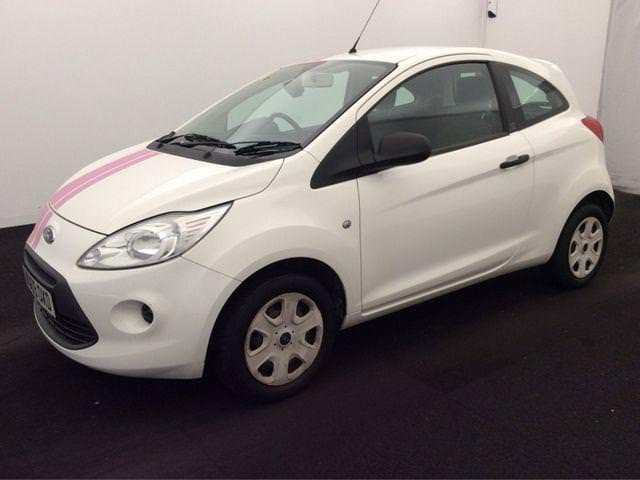 Ford Ka   Studio White Buy For Only  A Week Finance