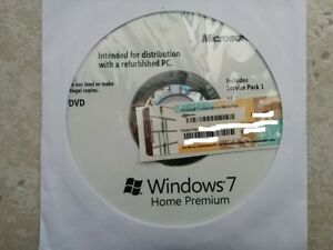 Windows 7 - with key sticker/ un used