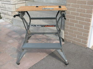 Black and Decker dual height workbench