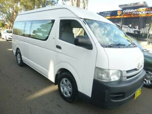 2009 Toyota HiAce TRH221R MY10 High Roof Super LWB White 4 Speed Automatic Van Merrylands Parramatta Area Preview