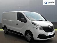 2014 Renault Trafic SL27 BUSINESS PLUS DCI S/R P/V Diesel white Manual
