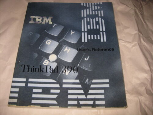 Vintage IBM ThinkPad 390 Computer MANUAL
