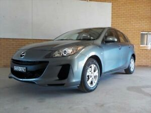 2012 Mazda 3 BL MY13 Neo Dolphin Grey 6 Speed Manual Hatchback