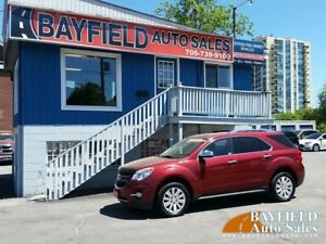 2011 Chevrolet Equinox LTZ AWD V6 **Leather/Sunroof/Only 135k!**
