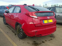 HONDA CIVIC 2013 BREAKING FOR SPARES PLEASE CALL BEFORE YOU COME